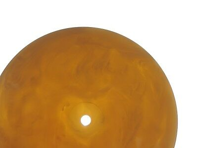 VINTAGE GERMAN ART DECO BAKELIT  BUTTERSCOTCH BAKELITE CATALIN SOCKEL OLD 680 gr