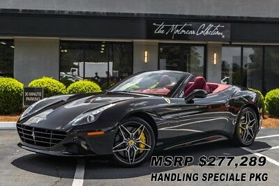 2017 Ferrari California T HANDLING SPECIALE MSRP $277,289.00 HANDLING SPECIALE PKG! ONLY 1K MILES. CLEAN CARFAX CERTIFIED