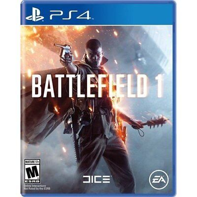 Battlefield 1 For PlayStation 4 PS4 Shooter Very Good 8E