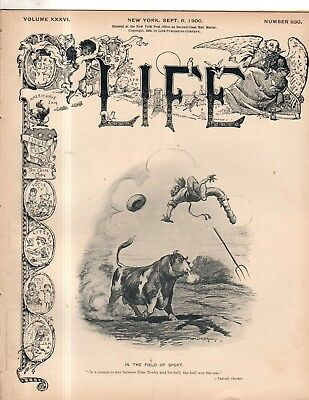 1900 Life September 6 - Teddy Roosevelt campaign song;Jews are the Chosen People