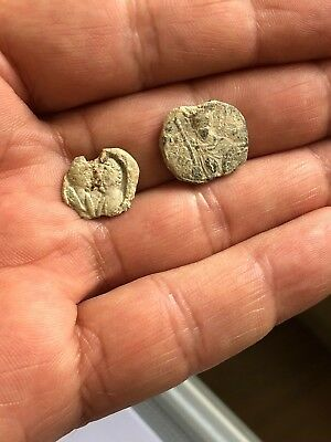 Lot Of 2 (Byzantine & Roman) Lead Seals / Bleisiegels