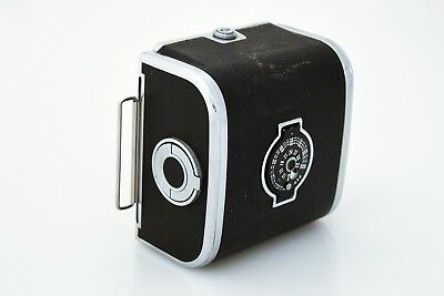 Hasselblad A12 120 Film Back, Chrome, for V System,Classic circa early 70's