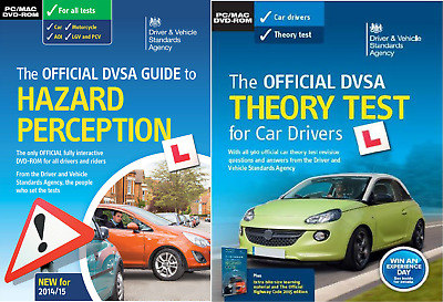 Official DVSA Theory Test & Hazard Perception Driving Kit PC Mac DVD ROM 2016/17