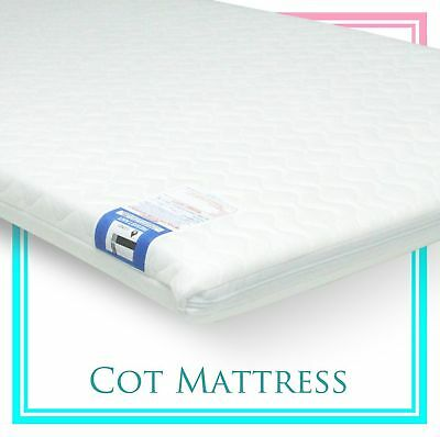 Baby Travel Cot Mattress 95 x 65 x 5 CM QUILTED fits most Graco / M&P Cots