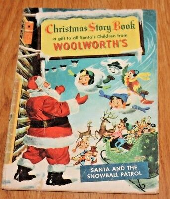 Vintage 1953 Christmas Story Book Woolworths Comic