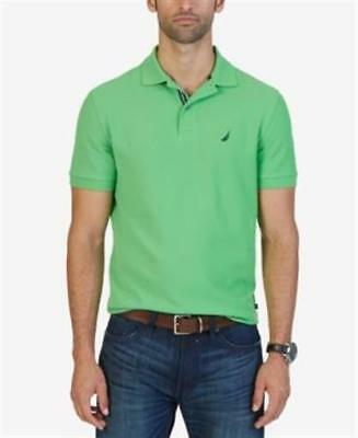 Nautica Classic Fit Performance Deck Polo Grassblade Mens Size Small New