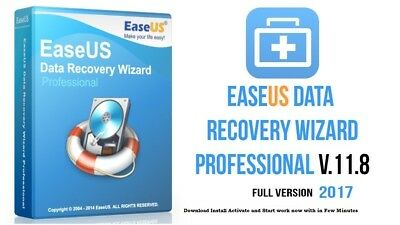 EASEUS DATA RECOVERY WIZARD 11.8 PROFESSIONAL LATEST Delivery in 5 min to 5 hour