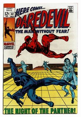 Daredevil # 51 NM- OW Pgs Black Panther App Barry Smith Art