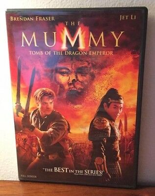 The Mummy: Tomb of the Dragon Emperor (Widescreen), LIKE NEW