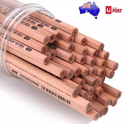 10pcs Natural Wooden 2B Lead Pencils Writing Drawing