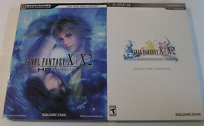 New Final Fantasy FF X/X-2 HD Remaster: Collectors Edition With Guide