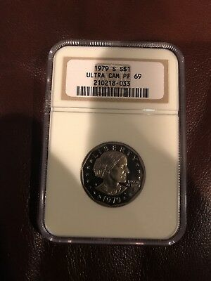 1979-S Susan B Anthony Proof. PR69