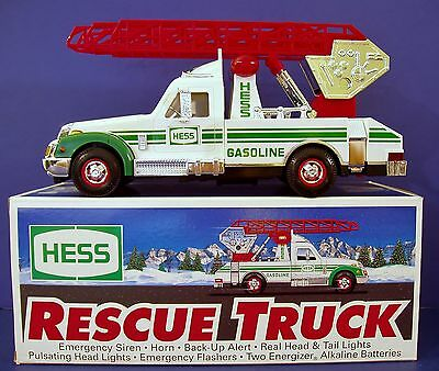 New 1994 Hess Rescue Truck Ladder Fire Sound Siren Horn Light Flasher Head Tail