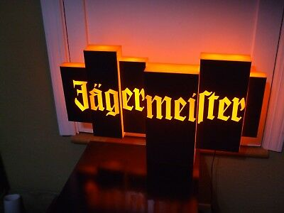 Jagermeister Led Beer Bar Sign Man Cave Garage Jager Bomb Liquor
