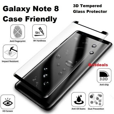 Samsung Galaxy Note 8 100% Genuine Tempered Glass LCD Screen Protector Film