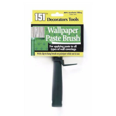 Wallpaper Paste Brush 100% Synthetic Wall Paper Decorating 13cm X 4cm