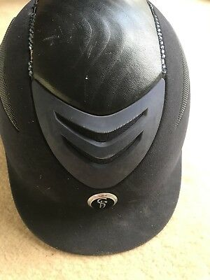 Gatehouse Navy Conquest Crystal Riding Hat