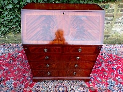 HAND MADE BRIDGECRAFT Georgian Style Writing Bureau Desk Ex Showroom Display NEW