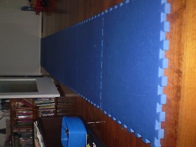 8 thick floor foam mats, safe for kids room