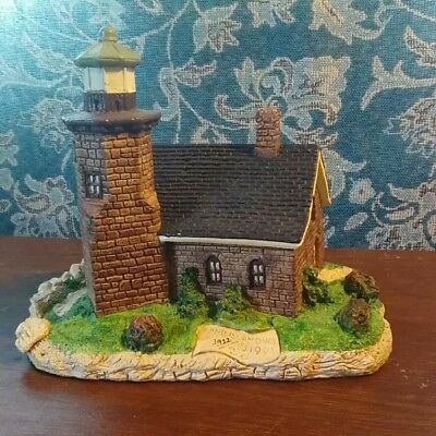 Harbour Lights #112 Sand Island Wisconsin Lighthouse 1991 Nautical Collectible