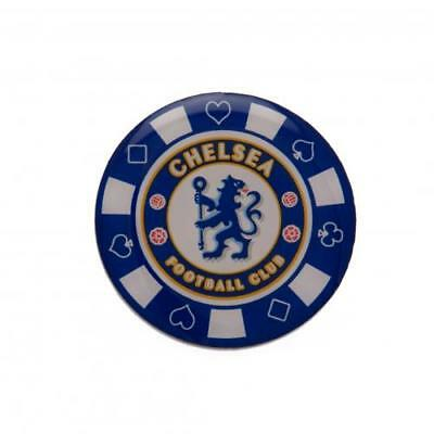 Chelsea FC Poker Chip Badge Football Club Player Supporter Birthday PRESENT GIFT