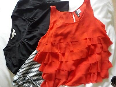 Leggins And 2 Tops Size 14-16