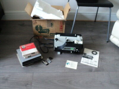 Fujicascope M36 Projector With Box & Manual is Working But needs a new belt