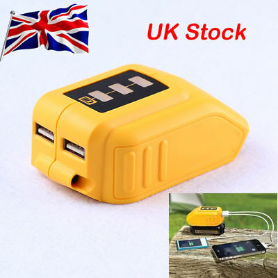 Replace DeWalt DCB090 USB Charger Battery Adapter Power Charger Durable UK