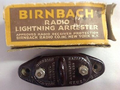 Birnbach Radio Lightening Arrester In Original Box, Never Used