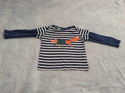 Boys Joules 12-18 months Fox Long sleeved Top