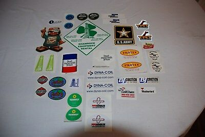 Oilfield Hardhat/laptop/toolbox Decals/stickers/beer/us Army/texas