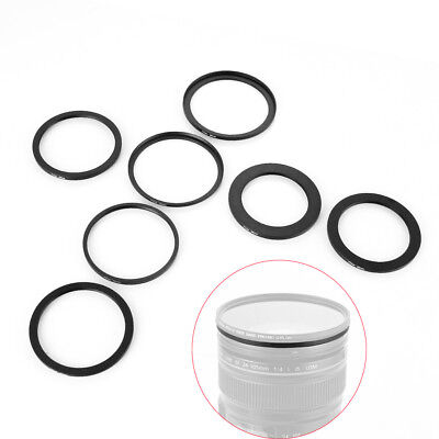 Step Up/Down Lens Filter Ring Adapter 52mm to 43 49 55 58 62 67 72 77 82mm 52-67