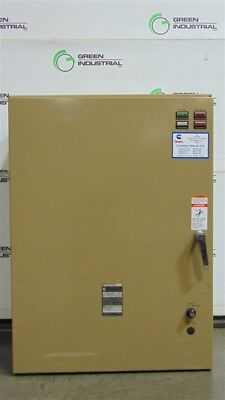 USED 225 Amp Cummins CTCU 225B 732G Single Phase Automatic Transfer Switch