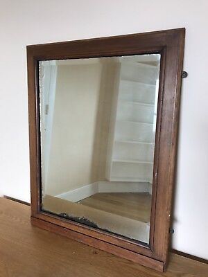 Small Antique Wall Mirror