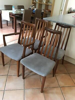 Mid century Dining chair teak G plan with 2 carvers
