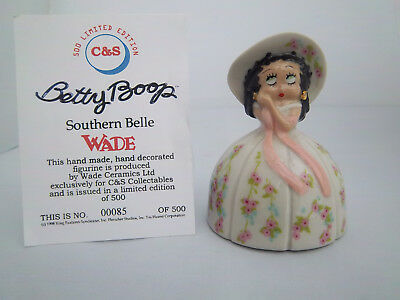 WADE BETTY BOOP SOUTHERN BELLE l/e 500 -  Excellent Condition