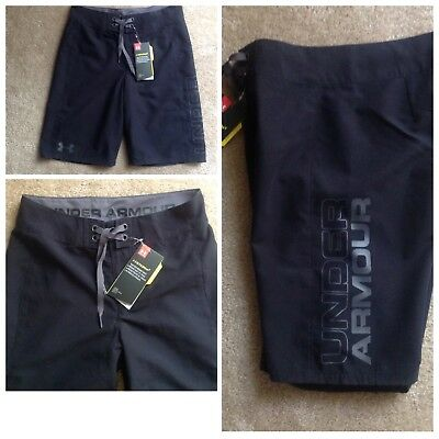 Under Armour Boys YMD (10-12) Storm Hilt Surf Shorts Swim Trunks Water Res NWT