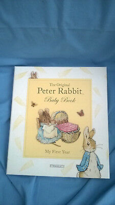 Peter Rabbit Baby Book - My First Year