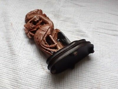 Old Soapstone Carving