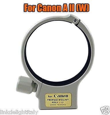 TRIPOD MOUNT COLLAR RING A II (W) FOR CANON EF 70-200mm F/4L EF 70-200mm F/4L IS