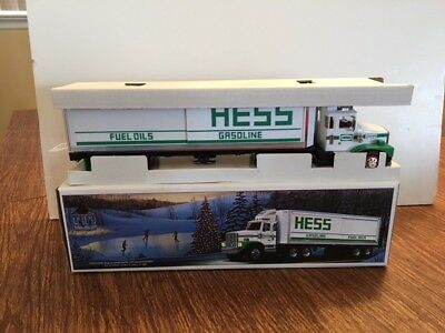 New In Box - Vintage 1987 Hess Toy Truck Bank with Box