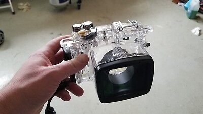 Canon WP-DC54 Waterproof Case for PowerShot G7 X Digital Camera great shape!!
