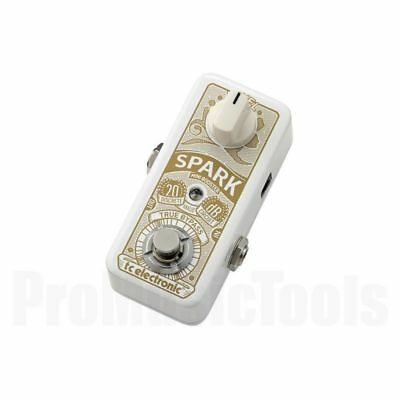 TC Electronic Spark Mini Booster - b-stock 1x opened box *NEW* boost drive pedal
