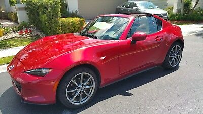 2017 Mazda MX-5 Miata Grand Touring earch the sites, this baby is very rare. The red color is on fire!