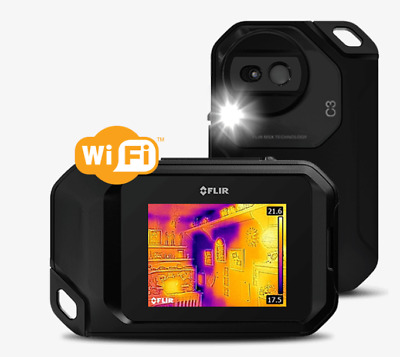FLIR C3 Compact Thermal Imaging Camera with WiFi & Free Case FREE SHIPPING