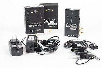Teradek Bolt Pro Gen 1 TX/RX Wireless HD-SDI Video, 2 Receivers, Multiple Cables