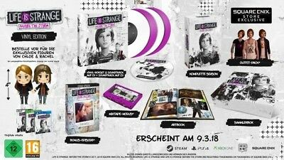 Life Is Strange Before The Storm Limited Edition Vinyl Soundtrack, Chloe Rachel