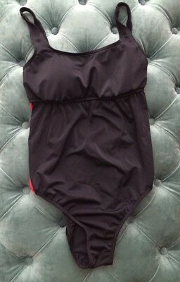 Prego Maternity Sport One Piece Swim Suit Bathing Suit Size:SM EUC