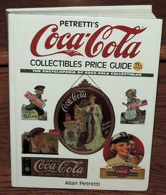 "NOS 2001 ALLAN ""PETRETTI'S COCA-COLA COLLECTIBLES PRICE GUIDE"" 11th EDITION BOOK"