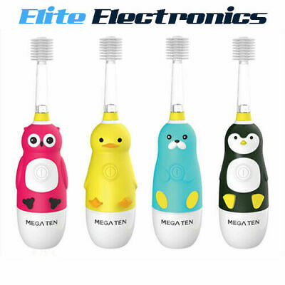 Vivatec Megaten Kids Sonic 360 Electric Toothbrush Penguin Duck Owl Sea Otter